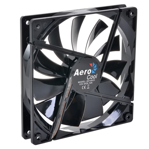 12 cm Aerocool Dark Force Black